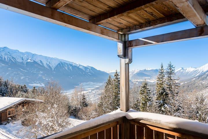Appartment mit fantastischem Blick über Tirol  1