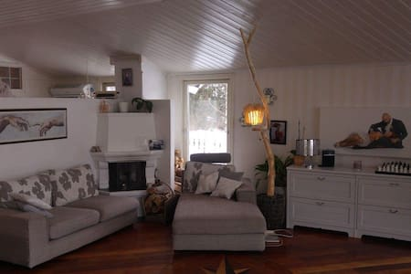 House w/ three bedrooms and jacuzzi - Lørenskog - Casa