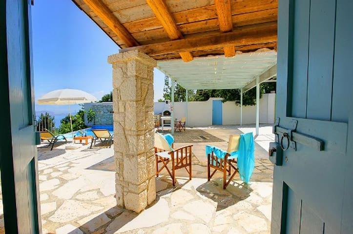 The Artist's House, in Northwest Corfu - Corfu - Villa