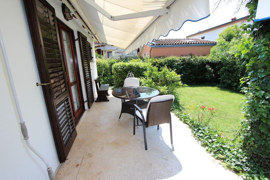 Apollonio Rovinj bed & breakfast apartman vakantie