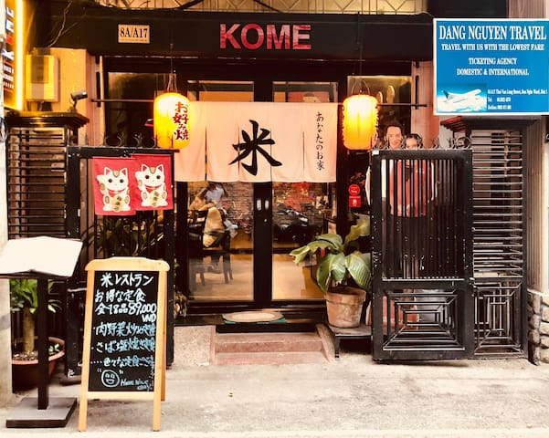 KOME HOME- 8A/A17 Thai Van Lung Street, District 1
