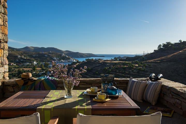 Kea Summer Villa, serene summer living in Kea/Tzia - Kea Kithnos - Villa