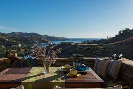 Kea Summer Villa, serene summer living in Kea/Tzia - Kea Kithnos - Huvila