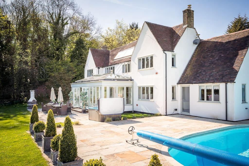 Cotswolds Broadway The White House Houses For Rent In Sezincote England United Kingdom