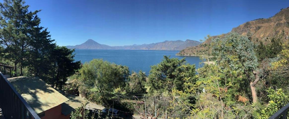 Vista y tranquilidad en Atitlan, en Sta Catarina. - Sololá - Apartament