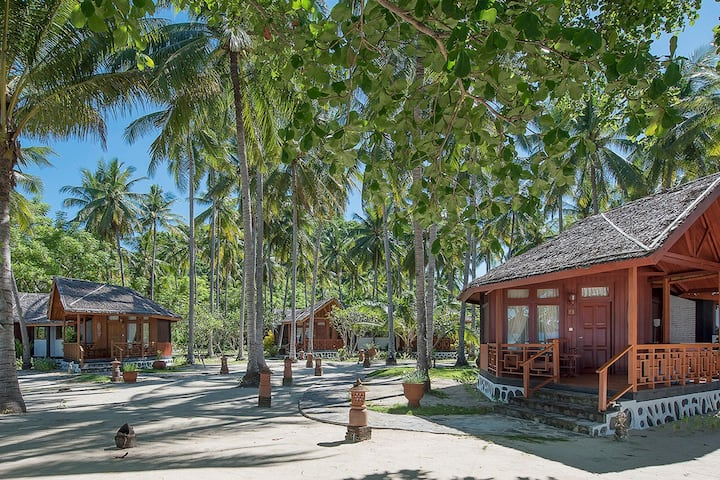 Your Private Beach Resort for 12 at Gangga Island