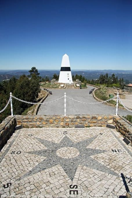 Geodetic center of Portugal
