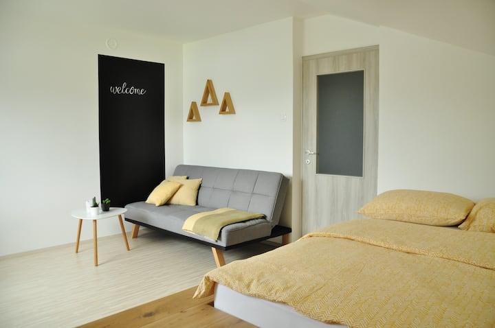 Bright, cozy, renovated studio; Bohinjska Bistrica