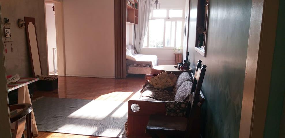Meu quarto por uns dias no Rio