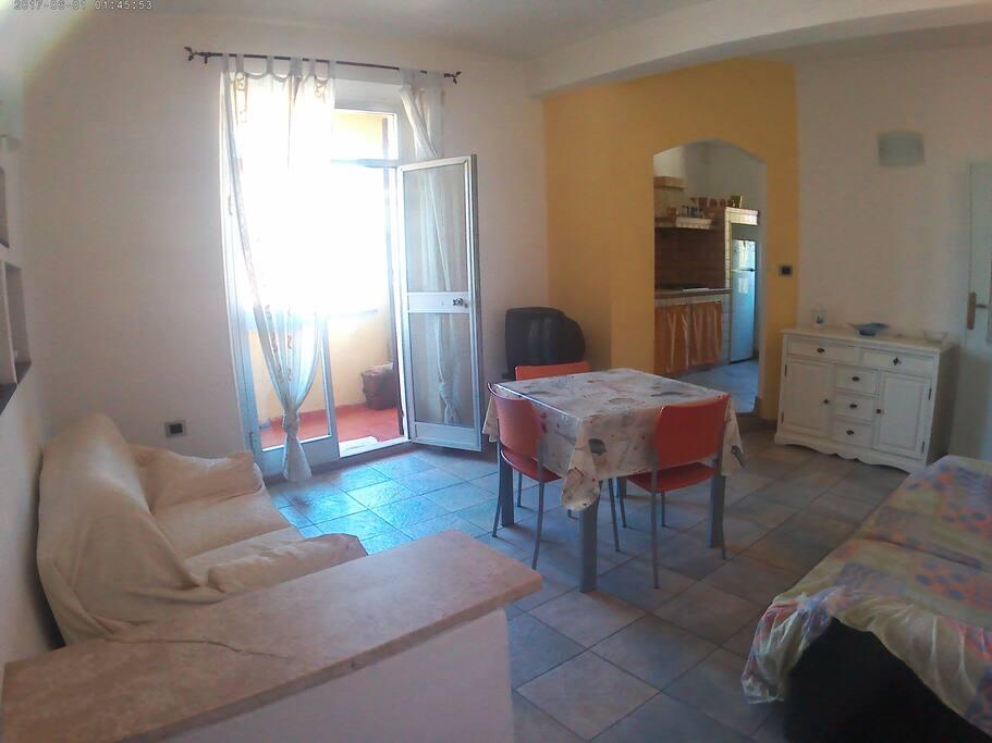 Living room with two sofa/Salotto con due divani