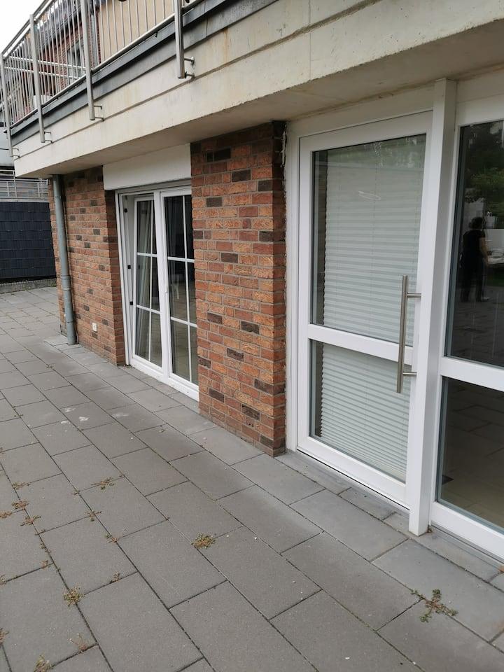 Komplett eingerichtete Wohnung im herzen Krefelds
