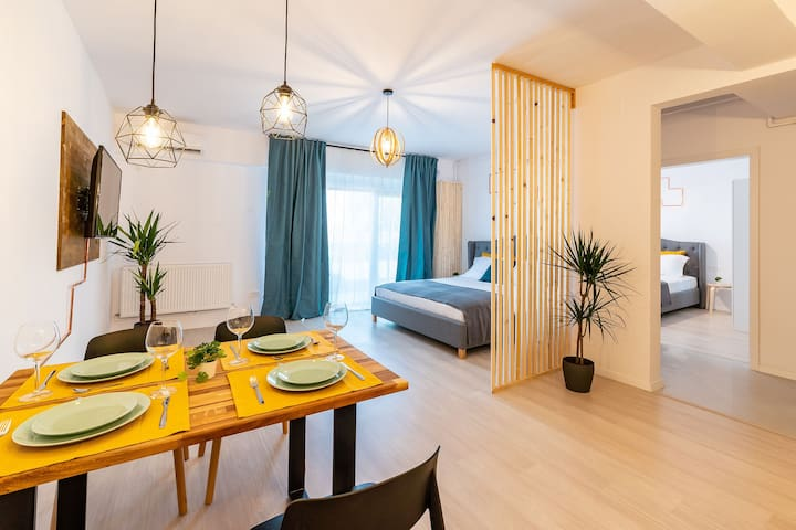 2xKing Bed Apartment- Mamaia Nord- 70m from beach