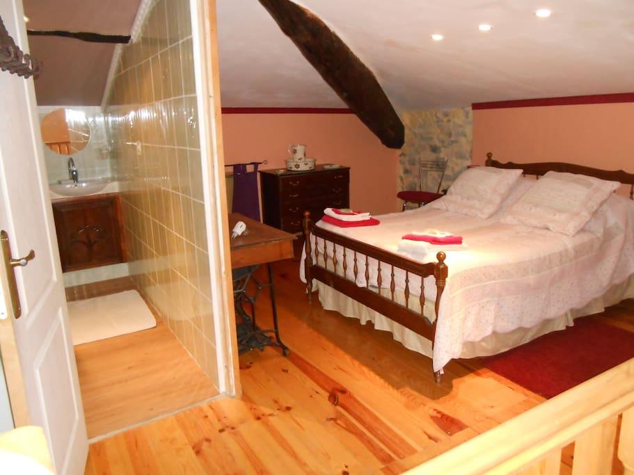 chambre (à l etage)