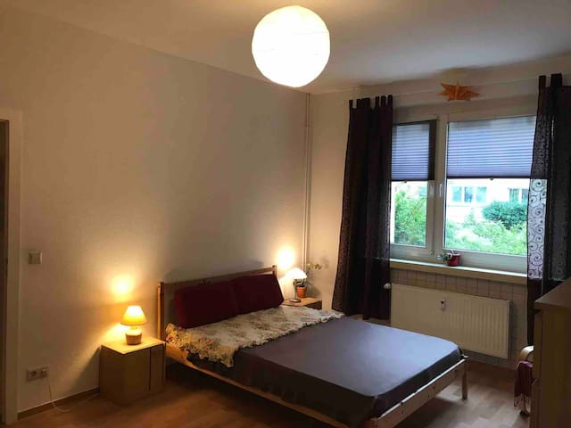 A Centrally Located, Peaceful, Luminous Room