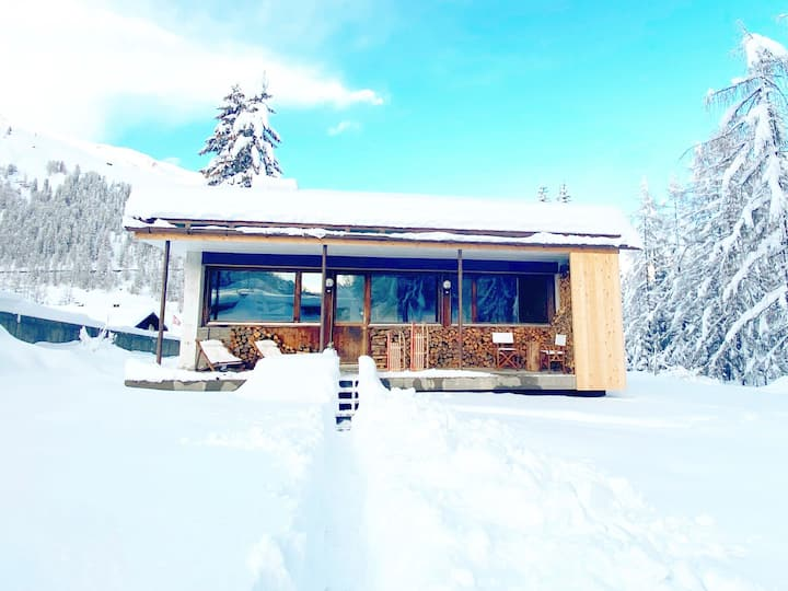 NEW▲2BR cozy cabin with forestview▲WiFi▲Nespresso