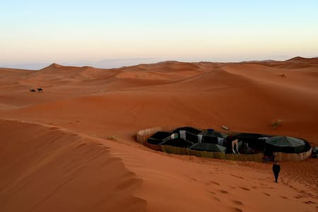 Family tent Merzouga Camp