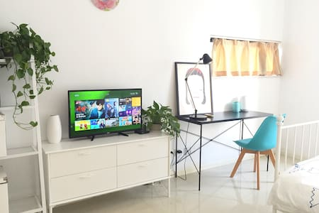 可爱的房子,地铁口50米精致的公寓,位于繁华商圈,交通便利 - Suzhou - Apartmen