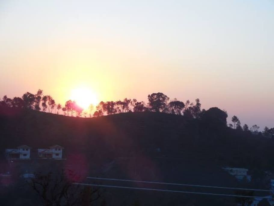 SUNRISE FROM EAST
