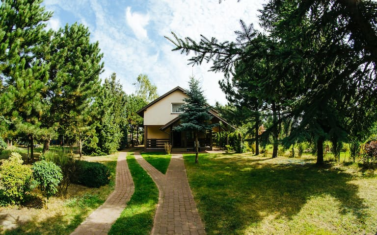 Dom nad jeziorem Chodecz - Chodecz - Huis