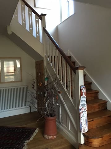 Charming Oxford city room, parking + close to bus - Oxford - Huis