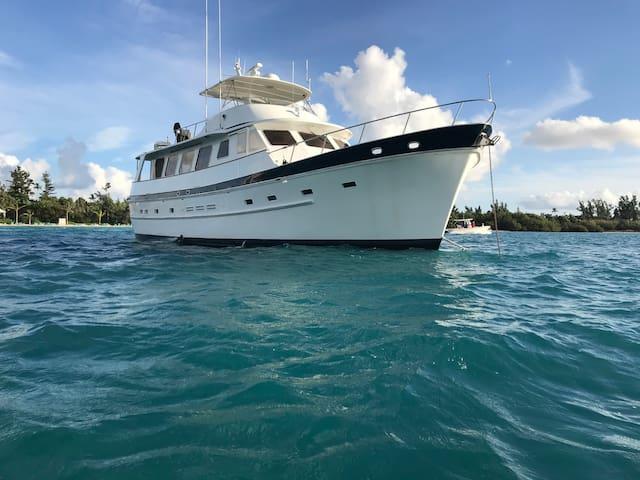"""VIP Cabin Aboard 66' Motor Yacht """"AURELIA"""""""
