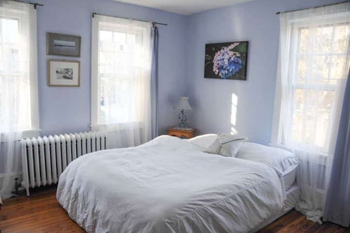 Haddonfield Quiet & Charming Blue Room - Haddonfield - Casa