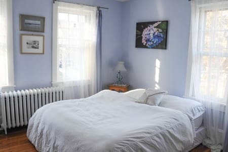 Haddonfield Quiet & Charming Blue Room - Rumah