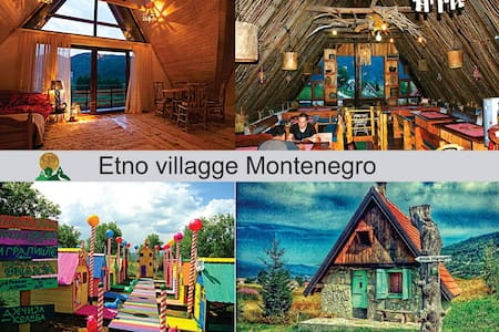 Etno Selo Montenegro · Log House