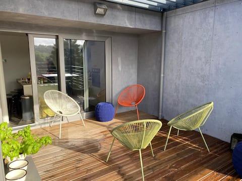 Magnifique penthouse de 165 m2  avec terrasse