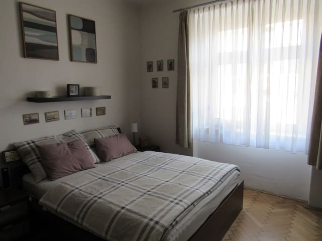 Cosy flat with good availability to the center