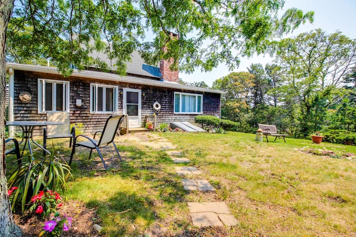 Lovely clapboard home in a private setting in the heart of town