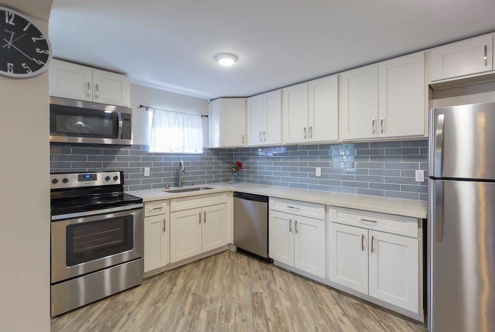 New and gorgeous kitchen