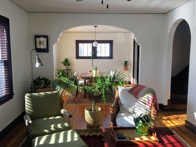 Cozy bedroom and half bath in Historic Southwest