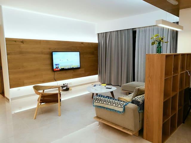 设计师的温馨之家(一房)  Designer's Cosy Home(one bedroom ) - 中山市 - Daire