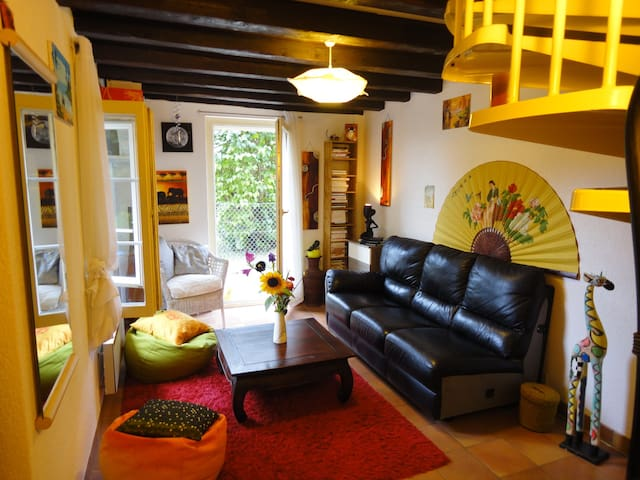 Lovely cosy villa at 15-20min from Geneva center - Vernier - Willa