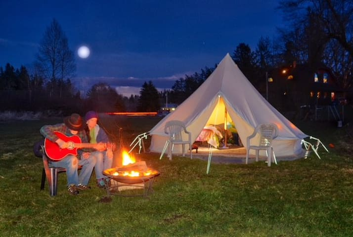Brook Hollow City Glamping