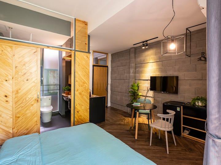 Aqua House 1 - Cozy & tranquil studio with balcony