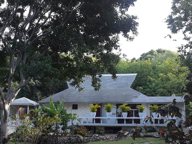 Private Cottage in luxury Rose hall area Mobay.