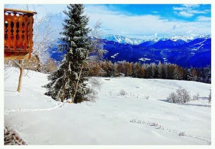 Baita di montagna di Valtellina - Prato Valentino - Casa