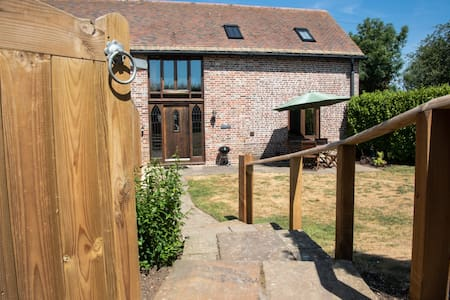 17th century barn conversion with enclosed garden