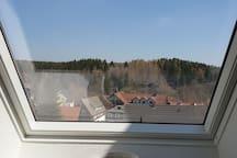 Blick über Braunlage aus dem Küchenfenster