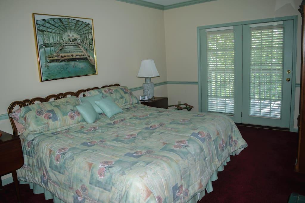 Bedroom 1 side-by-side single beds