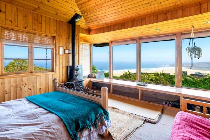 Casa cálida de relajo en Tunquén (Campomar)