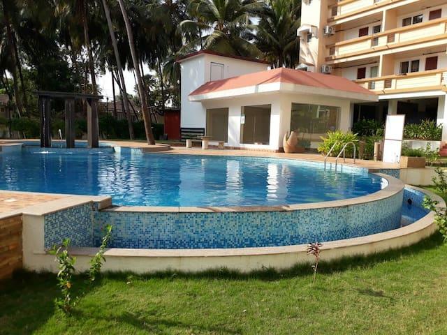 Luxurious 2BHK Apartment with Shared Pool @ Arpora - Arpora - Apartment