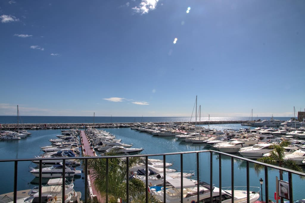 First Line Penthouse Puerto Banus.