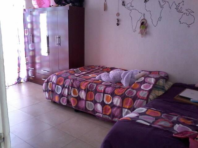 Habitaciones en Hermosa Casa - Cancún - Huis