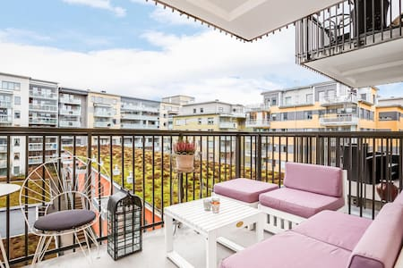 Nice and large apartment in central Västerås