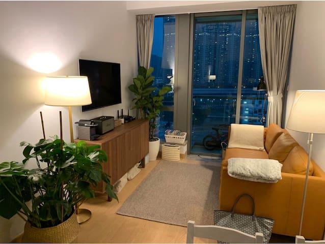 Cozy boho apartment