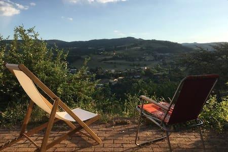 Gîte terrasse avec vue imprenable - 6 personnes