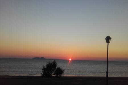Rodia beach with amazing sea view - Kokkinos Pirgos - Apartament